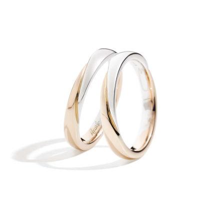 Immagine di FEDI DESIGN Fedi in oro bianco e rosa