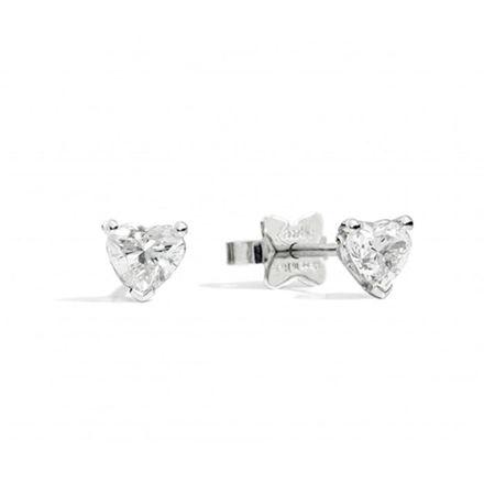 Immagine di ANNIVERSARY LOVE Orecchini punto luce in oro bianco e diamanti E67PX001
