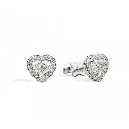 Immagine di ANNIVERSARY LOVE Orecchini punto luce in oro bianco e diamanti E67SC002/046 R