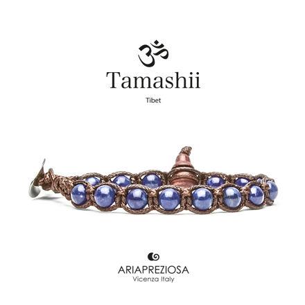 Immagine di Bracciale Tamashii Originale Lapislazzuli (6mm) BHS601-43