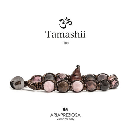 Immagine di Bracciale Tamashii Originale Tormalina Rosa BHS900-181
