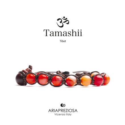 Immagine di Bracciale Tamashii Originale Agata Rossa Striata BHS900-118
