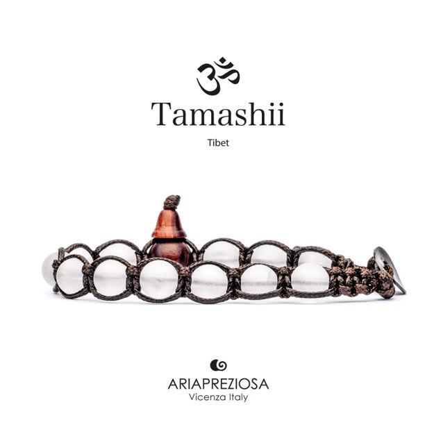 Immagine di Bracciale Tamashii Originale Cristallo di Rocca Opaco BHS900-68