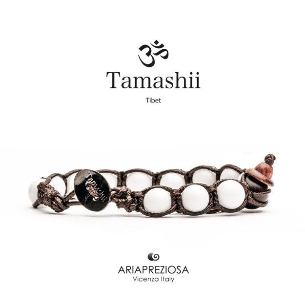 Immagine di Bracciale Tamashii Originale Agata Bianca BHS900-14