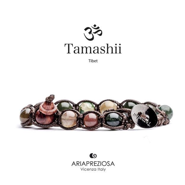 Immagine di Bracciale Tamashii Originale in Agata Muschiata BHS900-17