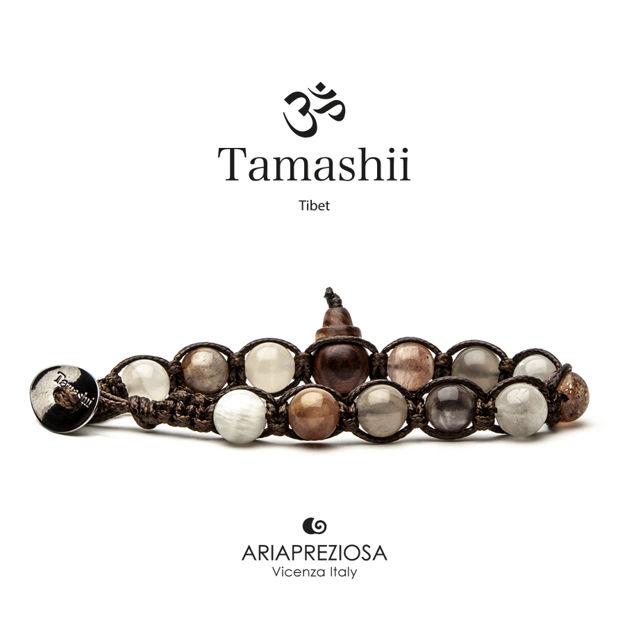 Immagine di Bracciale Tamashii Originale Pietra di Luna Colorata BHS900-220