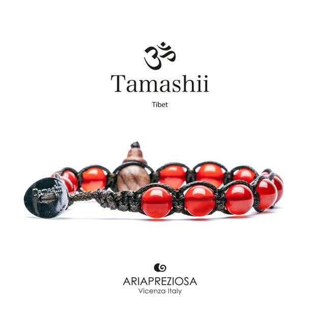 Immagine di Bracciale Tamashii Originale Agata Rosso Passione BHS900-124