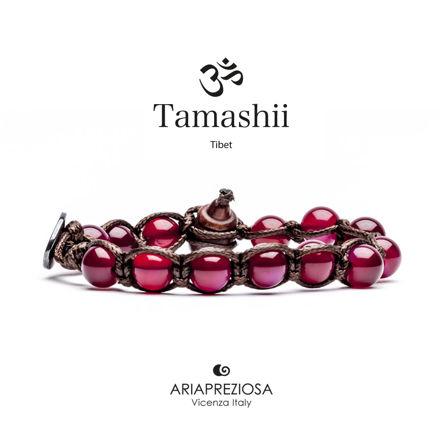Immagine di Bracciale Tamashii Originale Agata Rossa BHS900-34