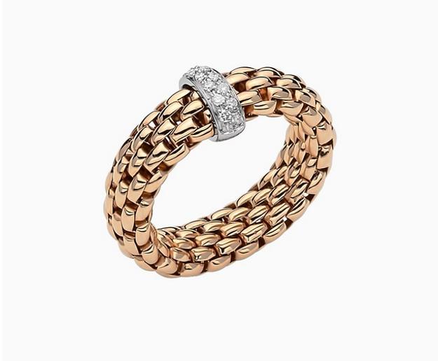Immagine di VENDÔME Anello Flex'it con diamanti Oro Rosa e bianco AN559BBRM B